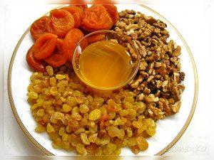 Витаминный сбор на меду