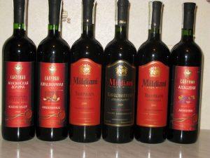 Красные сорта вин
