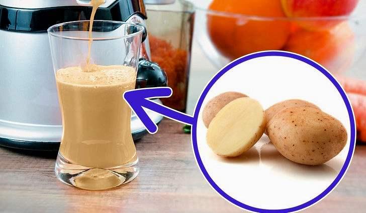 Что лечит сок картофеля, полезные свойства и применение в медицине