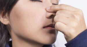 Экзема на носу