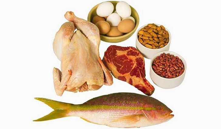 Ешьте здоровые продукты с высоким содержанием белка