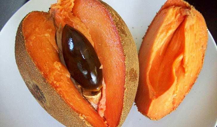 Фрукт Mamey Sapote содержит витамин e