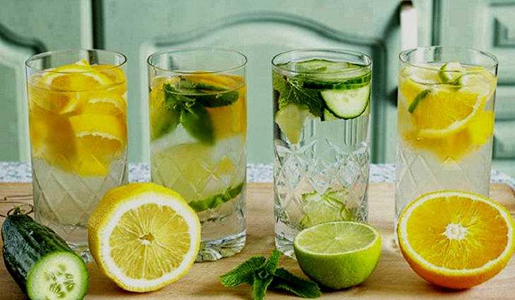 Как насчет лимонной воды?