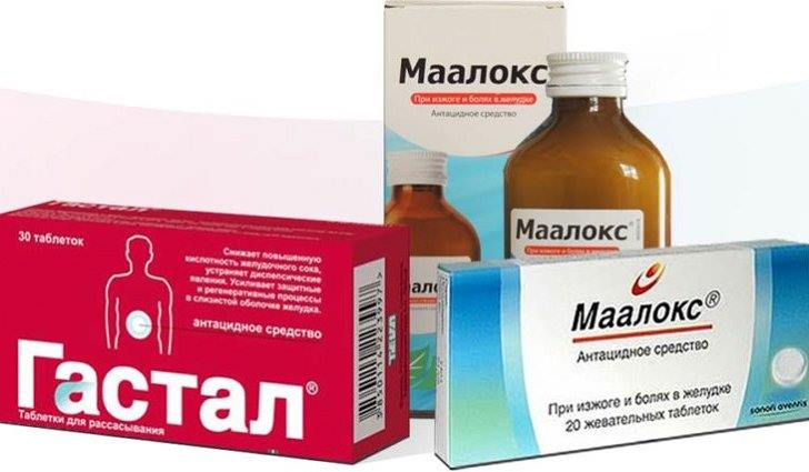 Лекарственные препараты от пищеводной грыжи