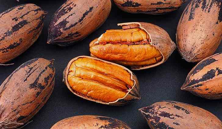 Орех Пекан богат витамином e