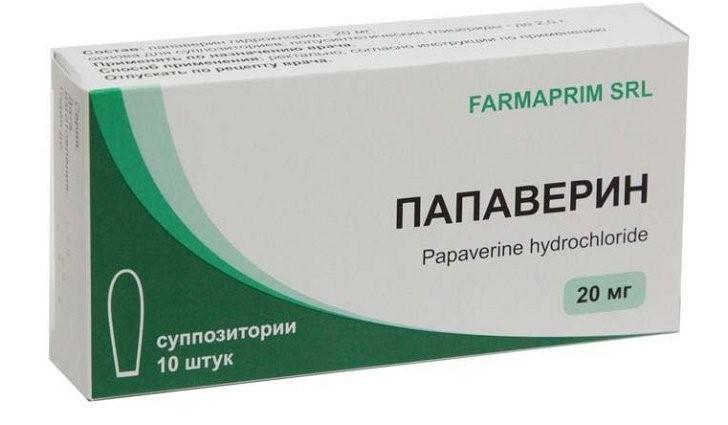 Папаверин снимает спазмы при беременности