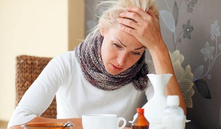 Применение масла при простуде
