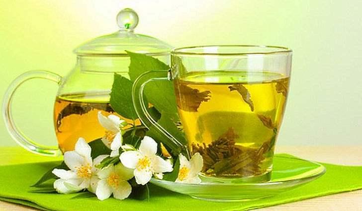 Ванночки с зеленым чаем