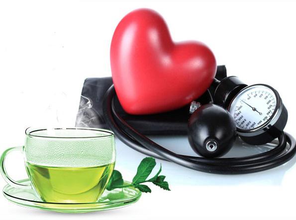 Зеленый чай при давлении