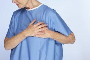 Болезненность в левой половине грудной клетки