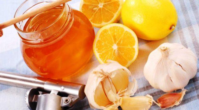 чеснок, лимоны и мед от гипертонии