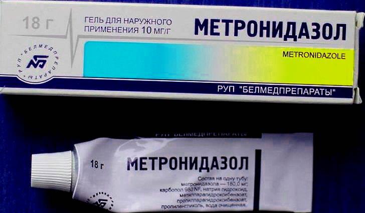 Гель метронидазол для лечения розацеа