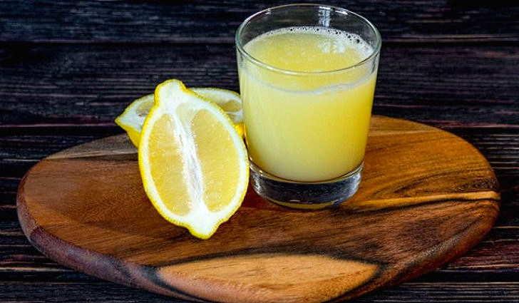 Лимонный сок в рецепте для очищения сосудов