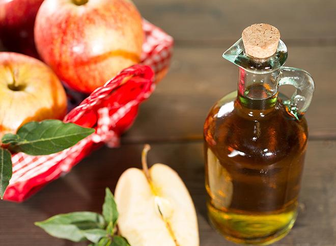 Яблочный уксус для победы над лишаем