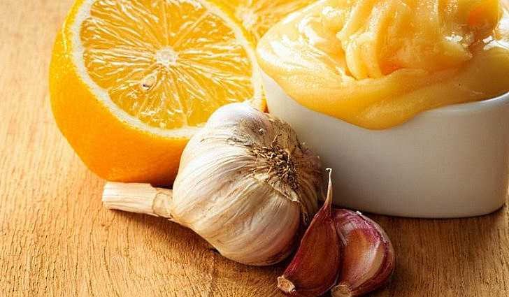 Народный рецепт с чесноком и лимоном