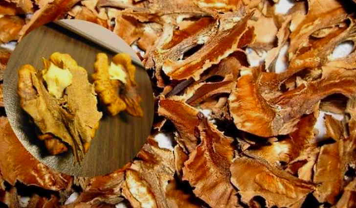 Перегородки ореха используют в рецепте после инсульта