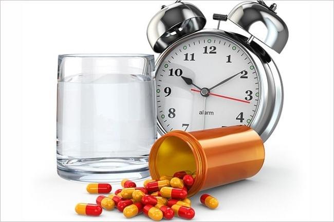 прием таблеток по времени