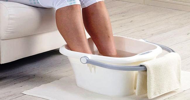 принять ванночку для ног