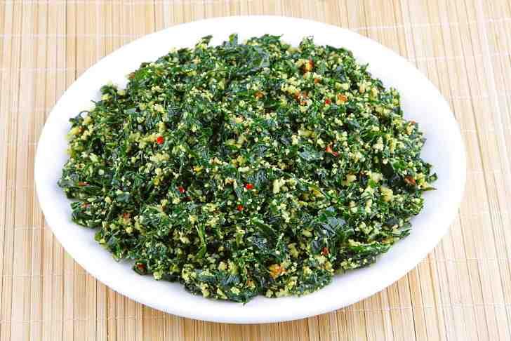 Рецепт №14 - салат из лопуха