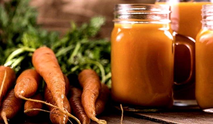 Лечение мигрени соком моркови